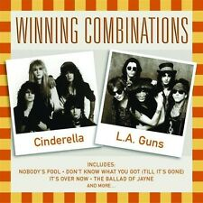 Cinderella, L.A. Guns - Winning Combinations (2002)  CD  NEW/SEALED  SPEEDYPOST