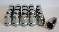 16 X M12 X 1.5 Alliage écrous de Roue & Verrouillage fit CHEVROLET CRUZE ORLANDO TRAX volt