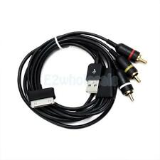 USB TV/AV Video Audio RCA Composite Cable Cord for Samsung Galaxy Tab P1000 NEW