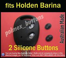 fits Holden Chevrolet Barina Vectra remote key fob - repair Silicone key Buttons