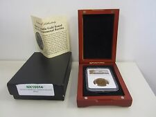 1913 CANADA BANK OF CANADA HOARD $10  GOLD COIN NGC MS 63 BOX & COA