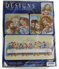 The Last Supper Counted Cross Stitch Kit Janlynn NEW religious jesus disciples