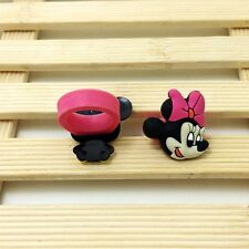 2pcs Fashion Cartoon Minnie Head Soft Rings for Children Kids Toy Party Gift