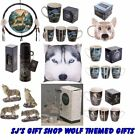 WOLF GIFTS - WOLVES - GIFT - WOLF - WILD - HOWLING - NIGHT CREATURE - WOLF