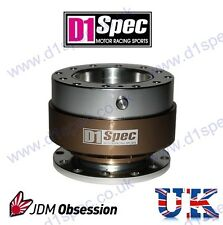 D1 SPEC UNIVERSAL STEERING WHEEL QUICK-RELEASE BRONZE JDM DRIFT nitroXukimport