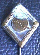 ✚2726✚ German shooting pin badge post WW2 stickpin Anstecknadel