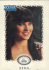 XENA WARRIOR PRINCESS ARCHIVE COLLECTION 2001 SEALED CARD SET # 49 TV BASE