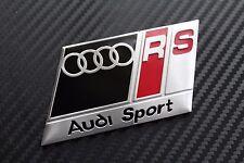 AUDI RS BLACK S LINE BOOT BADGE EMBLEM A3 A4 A5 A6 A8 S3 S4 S5 S6 TTRS(21C)