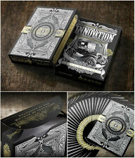 INNOVATION BLACK ED DECK OF PLAYING CARDS BY JODY EKLUND POKER SIZE MAGIC TRICKS