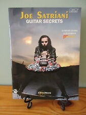 Joe Satriani: Guitar Secrets by Joe Satriani Paperback Book with Tablature