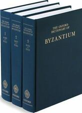 The Oxford Dictionary of Byzantium (3-Volume Set)-ExLibrary