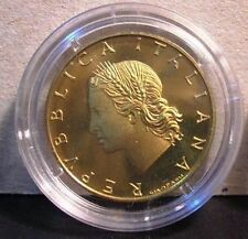20 Lire 1994 Proof Fondo Specchio