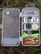 survival kit EDC fishing sewing Outdoor Sports Camping Hiking Emergency Gear new