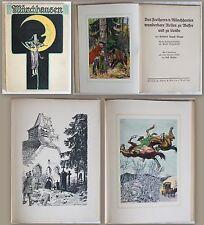 Bürger: Des Freiherrn v. Münchhausen wunderbare Reisen (um 1900) illustriert -xz