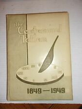 THE TATLER YEAR BOOK CENTENNIAL 1849-1949 WILLIAM JEWELL COLLEGE LIBERTY MO
