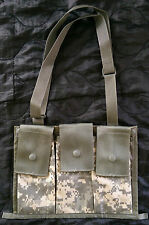 US ARMY ISSUE BANDOLEER, ACU pack, molle, backpack, bag, bandolier