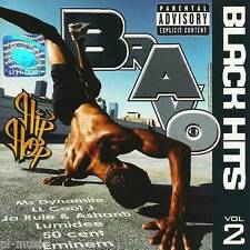 = BRAVO HIP HOP BLACK HITS vol.2 - /50 CENT , eminem,ROWLAND,JAY-Z,CAREY /CD