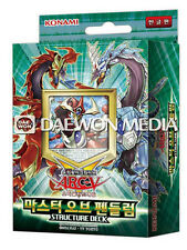 "YUGIOH CARDS Structure Deck ""Master of pendulum"" / Korean Ver"