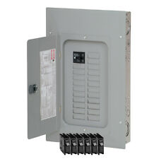 Eaton 100-Amp 20-Space 40-Circuit Wall Main-Breaker Indoor Electrical-Panel Box