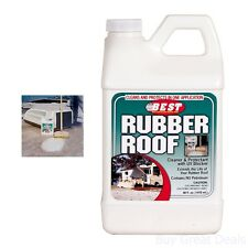 Best Rubber Roof Cleaner And Protectant Bottle RV Motorhome Travel Trailer 48 oz