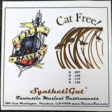 FMI Synthetic Gut BASS STRINGS Closer to Real Gut Strings than Nylon Weedwackers