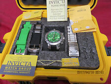 Invicta Men's 6687 Subaqua Noma III Swiss Chronograph Green Dial Watch