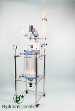 20L(10L/30L/50L/80L/100L) Jacketed Glass Chemical Reactor EX Proof Customizable