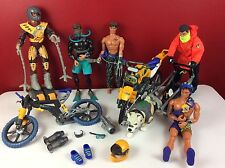 Max Steele Action Man Huge Lot Figures Accessories Vehicles