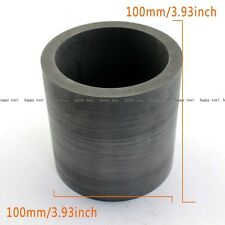 100mm X 100 Mm Purity Graphite Crucible Cup Furnace Torch Melting Silver Copper