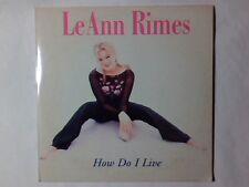 LEANN RIMES How do i live cd singolo 2 TRACKS