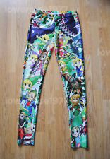 Zel game mashup leggings - 8 - 12 UK, video games geek, nerd, console retro con