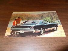 1969 Ford Galaxie 500 SportsRoof Advertising Postcard