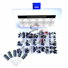 15 kinds value 200 pcs Electrolytic Capacitor Assortment Box Kit for Arduino DIY