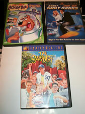 THE SANDLOT,AGENT CODY BANKS AND SCOOBY DOO: SPACE APE..) KIDS DVD LOT