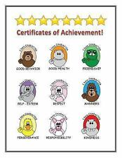 Certificates of Achievement for Your Good Character by Joni Downey (2016,...