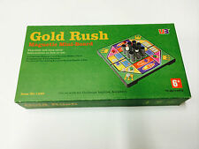 """GOLD RUSH 7"""" MAGNETIC GAME BOARD TRAVEL PUZZLE NOVELTY TOY KIDS BRAIN HOBBY MIND"""