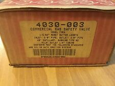 Robertshaw 4030-003 FMEA Commercial Gas Safety Valve