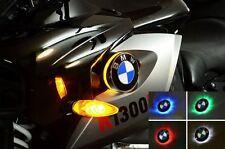 BMW k1300r bicolore LED Emblème Clignotants K 1300 r: blanc/jaune