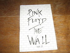 PINK FLOYD SONGS BOOK POLAND THE WALL VOL. 2