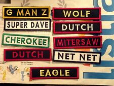 Custom Made Flash Name Tape Patch