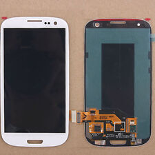 LCD Display Screen Digitizer Full Assembly For Samsung Galaxy S3 III i9300 White