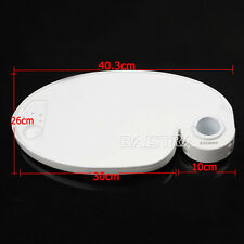 CA Plastic Post Mounted Oval Dental  Tray Table Chair Accessories