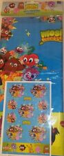 MOSHI MONSTERS CHILDRENS BIRTHDAY PARTY TABLECOVER NEW-138 × 183cm-same day dis.