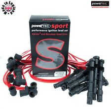 Powertec sport 8mm ignition ht leads cable fils mercedes 600 sl 600SL M120 R129