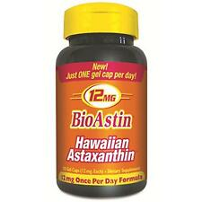 Nutrex BioAstin Hawaiian Astaxanthin 12mg 50 Gel Caps LOWEST PRICE FREE SHIPPING