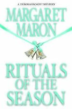 Rituals of the Season by Margaret Maron (2005, BCE, Hardcover) Cozy Mystery