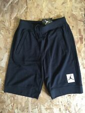NIKE AIR JORDAN 4 SHORTS BLACK GYM RED WOLF GREY SPECKLE SIZE LARGE NWT