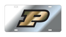 PURDUE UNIVERSITY Silver Mirrored License Plate / Tag