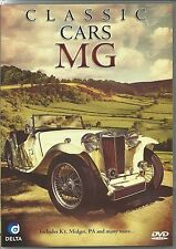 CLASSIC CARS MG DVD - INCLUDES K3, MIDGET, PA & MANY MORE
