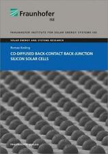 *NEU*  ROMAN KEDING - CO-DIFFUSED BACK-CONTACT BACK-JUNCTION SILICON SOLAR CELLS